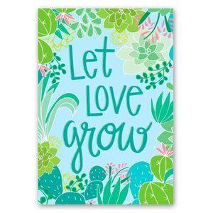 Let Love Grow  Desktop Journal